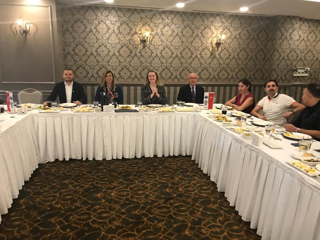 Bademli Rotary Kulübü Toplantısına Katılım Gösterdik