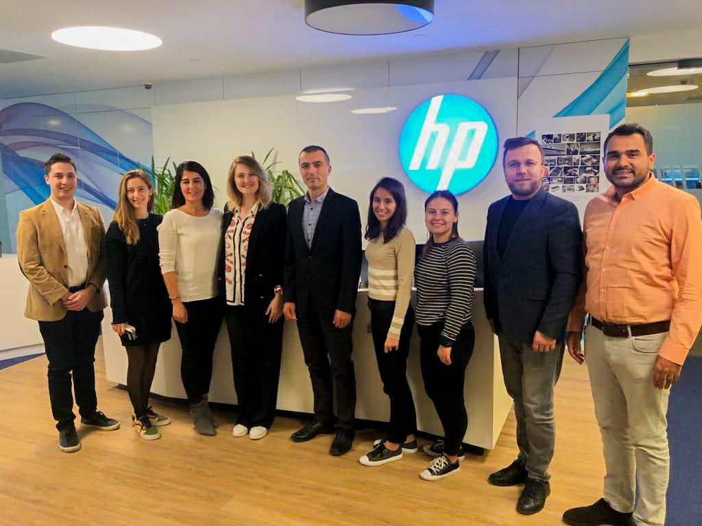 HP Türkiye Ziyareti